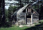 historic cabin near Blue Lakes