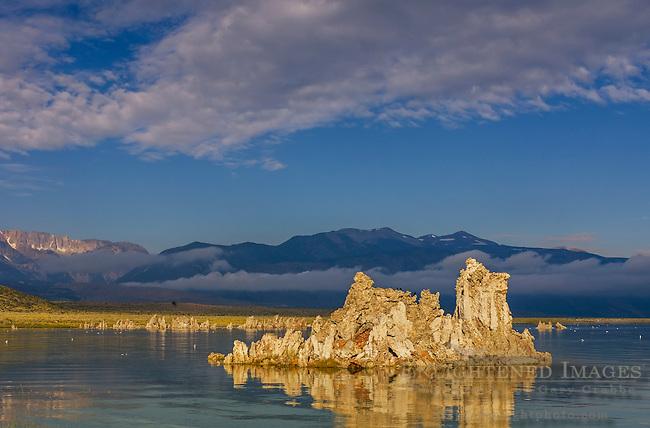 Tufa formations along the South Shore of Mono Lake, Mono County, Eastern Sierra, California
