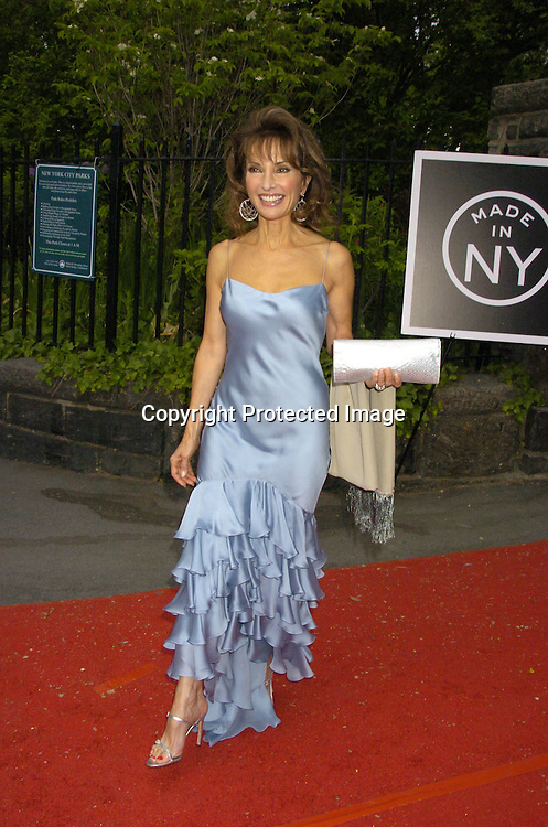 Susan Lucci in Ralph Lauren Dress..at the Pre Daytime Emmy Awards Party at Gracie Mansion on May 19, 2005. ..Photo by Robin Platzer, Twin Images