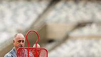 BELO HORIZONTE, MINAS GERAIS, 22 DE ABRIL 2013 - TREINO SELEÇÃO BRASILEIRA DE FUTEBOL -Luiz Felipe Scolari treinador da seleção brasileira de futebol durante sessão de treinamento na Minas Arena (Mineirão), na tarde desta terça-feira, 22. Amanhã o Brasil enfrenta o Chile no mesmo local. FOTO: WILLIAM VOLCOV / BRAZIL PHOTO PRESS.