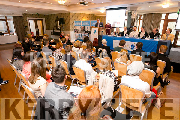 At The Steps 2 Success the Annual Networking and Employability Event organised by IT Tralee students at the Rose Hotel on Thursday