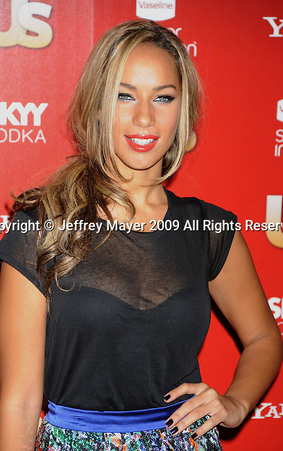 WEST HOLLYWOOD, CA. - November 18: Leona Lewis arrives at the US Weekly's Hot Hollywood 2009 at Voyeur on November 18, 2009 in West Hollywood, California.
