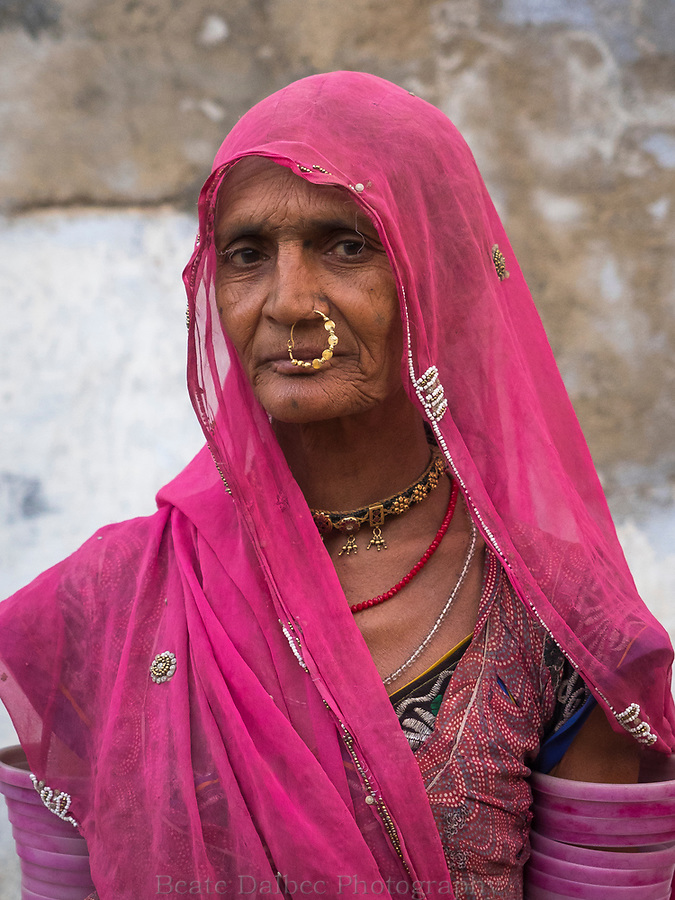 portrait of a villager, Narlai, Rajasthan