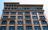 Memphis:  Upper stories, Romanesque Commercial-Office Building.
