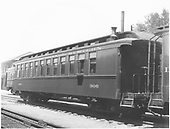 Coach #306 with bay window at Alamosa.<br /> D&amp;RGW  Alamosa, CO  8/1939