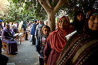 Egypt / Cairo / 22.12.2012 / Egyptians cast their ballots in the second day of the constitutional referendum.  <br /> &copy; Giulia Marchi