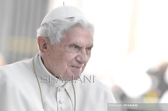 Pope Benedict XVI during his weekly general audience in St. Peter square at the Vatican, Wednesday. 18 April, 2012