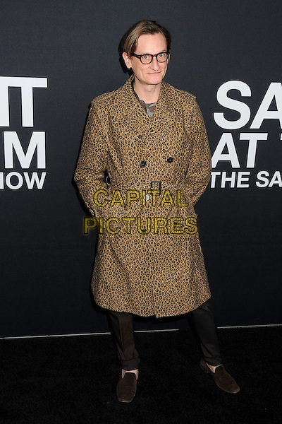 10 February 2016 - Los Angeles, California - Hamish Bowles. Saint Laurent At The Palladium held at the Hollywood Palladium. <br /> CAP/ADM/BP<br /> &copy;BP/ADM/Capital Pictures