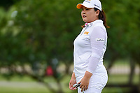 Inbee Park (KOR) watches her putt on 8 during round 2 of  the Volunteers of America Texas Shootout Presented by JTBC, at the Las Colinas Country Club in Irving, Texas, USA. 4/28/2017.<br /> Picture: Golffile | Ken Murray<br /> <br /> <br /> All photo usage must carry mandatory copyright credit (&copy; Golffile | Ken Murray)