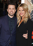 HOLLYWOOD, CA - FEBRUARY 13: Actors Rob McElhenney (L) and Kaitlin Olson attend the premiere of Warner Bros. Pictures' 'Fist Fight' at the Regency Village Theatre on February 13, 2017 in Westwood, California.