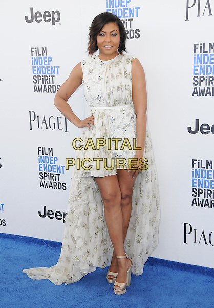 25 February 2017 - Santa Monica, California - Taraji P. Henson. 2017 Film Independent Spirit Awards held held at the Santa Monica Pier.  <br /> CAP/ADM/BT<br /> &copy;BT/ADM/Capital Pictures