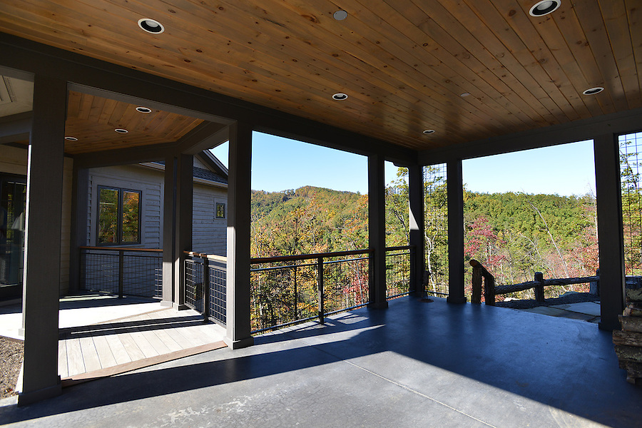 Scouting images of the uniquely designed Mountain Retreat home of Mike and Ann Bascle in the Blue Ridge Mountain Community  of the Western North Carolina Mountains.