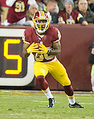 Washington Redskins wide receiver Jamison Crowder (80) returns a punt late in the second quarter against the New York Giants at FedEx Field in Landover, Maryland on Sunday, January 1, 2017.  The Giants won the game 19 - 10.<br /> Credit: Ron Sachs / CNP<br /> <br /> (RESTRICTION: NO New York or New Jersey Newspapers or newspapers within a 75 mile radius of New York City)