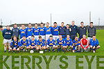 The St Senan's team that drew with Ballyduff in the Quarter final of the Bernard O'Callaghan Memorial Senior Football Championship clash in Ballybunion on Sunday last.