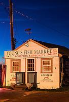 Small coastal seafood and lobster shack, Rock Harbor, Orleans, Cape Cod, Massachusetts, USA