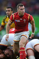 Man of the Match Gareth Davies of Wales during Match 35 of the Rugby World Cup 2015 between Australia and Wales - 10/10/2015 - Twickenham Stadium, London<br /> Mandatory Credit: Rob Munro/Stewart Communications