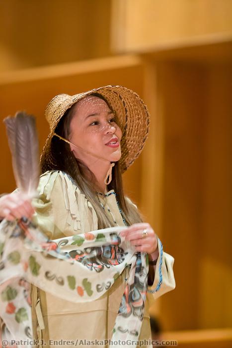 Jabila'ina Dancers, Festival of Native Arts, Fairbanks, Alaska. Three day festival celebrating native culture and heritage.