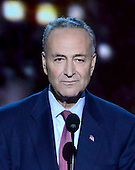 United States Senator Chuck Schumer (Democrat of New York) makes remarks at the 2012 Democratic National Convention in Charlotte, North Carolina on Wednesday, September 5, 2012.  .Credit: Ron Sachs / CNP.(RESTRICTION: NO New York or New Jersey Newspapers or newspapers within a 75 mile radius of New York City)