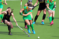 Action from the National Hockey League women's match between the Ricoh Capital Cyclones and Central Mysticks at National Hockey Stadium in Wellington, New Zealand on Friday, 22 October 2017. Photo: Dave Lintott / lintottphoto.co.nz
