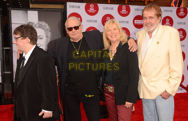 10 April 2014 - Hollywood, California - Bo Hopkins, Candy Clark.   Arrivals for the world premiere of the restoration of &quot;Oklahoma&quot; held at the TCL Chinese Theatre IMAX in Hollywood, Ca.  <br /> CAP/ADM/BT<br /> &copy;Birdie Thompson/AdMedia/Capital Pictures