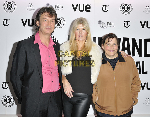 LONDON, ENGLAND - SEPTEMBER 29: guest, Wendy Thomas &amp; Jane Spencer attend the &quot;The Ninth Cloud&quot; UK film premiere, Raindance film festival, Vue Piccadilly cinema, Lower Regent St., on Monday September 29, 2014 in London, England, UK. <br /> CAP/CAN<br /> &copy;Can Nguyen/Capital Pictures