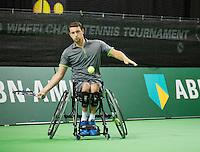 Februari 12, 2015, Netherlands, Rotterdam, Ahoy, ABN AMRO World Tennis Tournament, Joachim Gerard (BEL)<br /> Photo: Tennisimages/Henk Koster