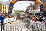 JB Murphy crosses the finish line to win the final stage at the Rás Mumhan cycling in Killorglin on Easter Monday.