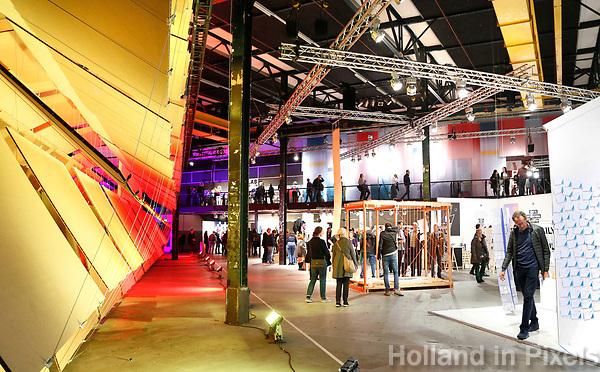Nederland  Eindhoven 2017 . DDW. Dutch Design Week. Strijp-S. Expositie in het Klokgebouw. Foto Berlinda van Dam / Hollandse Hoogte
