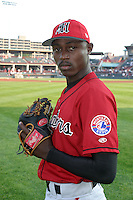 August 20, 2003:  Ignacio Puello of the Harrisburg Senators during a game at Jerry Uht Park in Erie, Pennsylvania.  Photo by:  Mike Janes/Four Seam Images