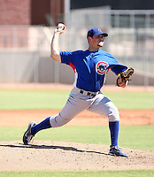 Matt Loosen - Chicago Cubs - 2010 Instructional League.Photo by:  Bill Mitchell/Four Seam Images..