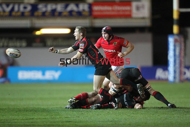 Wayne Evans.RaboDirect Pro12.Dragons v Munster.03.03.12.©STEVE POPE