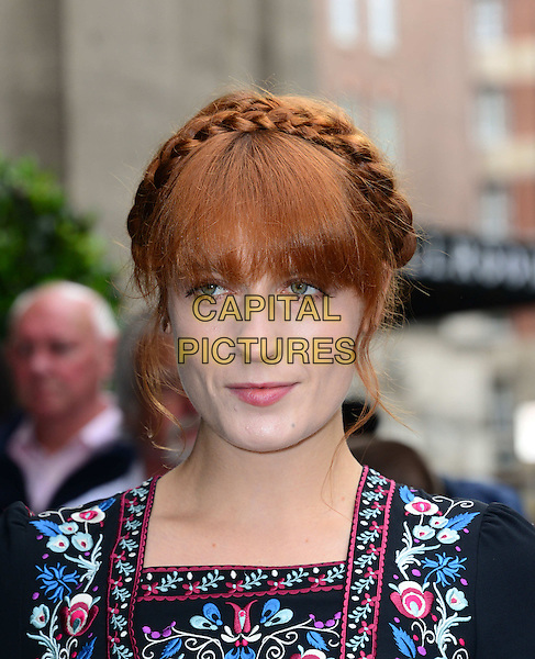 LONDON, ENGLAND - MAY 22:   Florence Welch attends The Ivor Novello Awards, the 59th annual songwriting and composing awards, at Grosvenor House, 86-90 Park Lane, on May 22, 2014, in London, England.<br /> <br /> CAP/JOR<br /> &copy;Nils Jorgensen/Capital Pictures