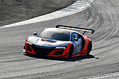 Pirelli World Challenge<br /> Intercontinental GT Challenge California 8 Hours<br /> Mazda Raceway Laguna Seca<br /> Sunday 15 October 2017<br /> Ryan Eversley, Tom Dyer, Dane Cameron, Acura NSX GT3, GT3 Overall<br /> World Copyright: Richard Dole<br /> LAT Images<br /> ref: Digital Image RD_PWCLS17_302