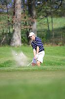 Kent State University Men's Golf team competing at the 2010 MAC Men's Golf Championships held at Longaburger Golf Club, March 30th, 2010