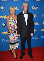 Michael Apted &amp; Paige Simpson at the 69th Annual Directors Guild of America Awards (DGA Awards) at the Beverly Hilton Hotel, Beverly Hills, USA 4th February  2017<br /> Picture: Paul Smith/Featureflash/SilverHub 0208 004 5359 sales@silverhubmedia.com