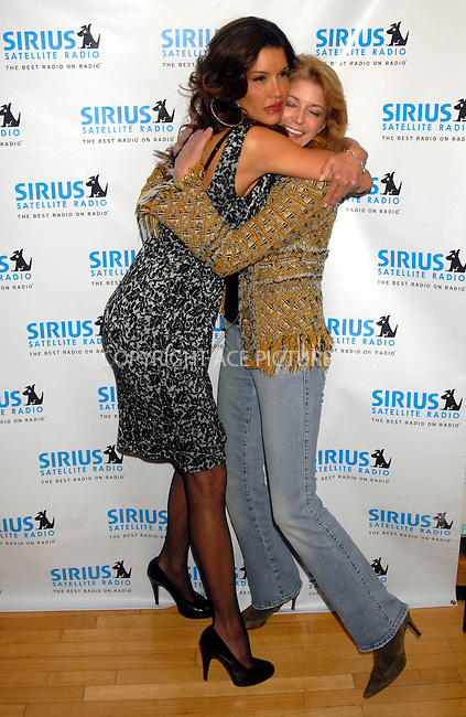 WWW.ACEPIXS.COM . . . . . ....January 23rd, 2007, New York City. ....Janice Dickinson and Candace Bushnell Attend the Launching of Exclusive Urban Comedy, an Entertainment and Life Style Channel on Sirius Satellite Radio at Sirius Satellite Radio Studios. ....Please byline: KRISTIN CALLAHAN - ACEPIXS.COM.. . . . . . ..Ace Pictures, Inc:  ..(212) 243-8787 or (646) 769 0430..e-mail: info@acepixs.com..web: http://www.acepixs.com