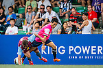Aston Villa vs Yau Yee League Select during their Main Shield Semi-Final as part of day three of the HKFC Citibank Soccer Sevens 2015 on May 31, 2015 at the Hong Kong Football Club in Hong Kong, China. Photo by Xaume Olleros / Power Sport Images