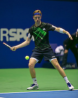18-12-13,Netherlands, Rotterdam,  Topsportcentrum, Tennis Masters, , David de Goede      <br /> Photo: Henk Koster