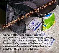 Lowepro Material failure