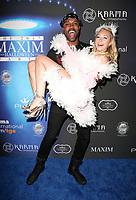 LOS ANGELES, CA - OCTOBER 21: DeMario Jackson, Corinne Olympios, at 2017 MAXIM Halloween Party at LA Center Studios in Los Angeles, California on October 21, 2017. Credit: Faye Sadou/MediaPunch /NortePhoto.com