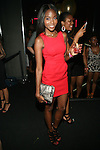 Model Shannone Holt Attends Wendy Williams 50th Birthday Party Held at the Out Hotel, NY