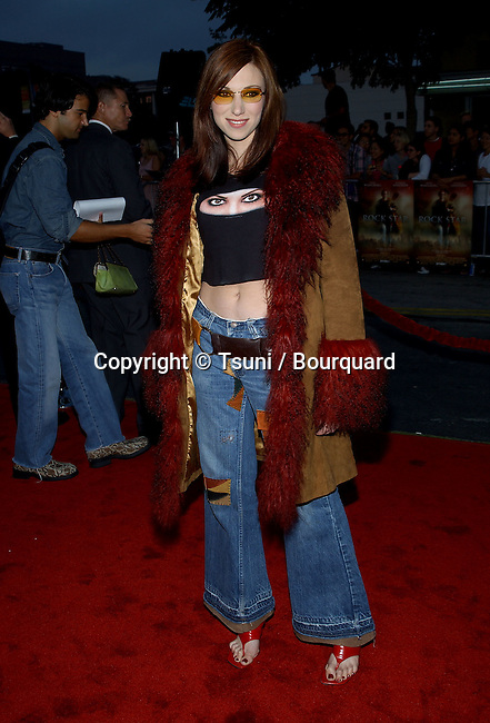 Debra Gibson arriving  at the Rock Star premiere  at the Westwood Village Theatre in Los Angeles. © September 4, 2001   © TsuniGibsonDebra001.JPG