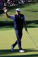 Matt Kuchar on the 14th hole during the Sunday singles matches of the 39th Ryder Cup at Medinah Country Club, Chicago, Illinois .(Photo Colum Watts/www.golffile.ie)
