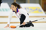 Miyo Ichikawa (Chuden), SEPTEMBER 16, 2013 - Curling : Olympic qualifying Japan Curling Championships Women's Final second Mach between Chuden 7-6 Fortius at Dogin Curling Studium, Sapporo, Hokkaido, Japan. (Photo by Yusuke Nakanishi/AFLO SPORT)
