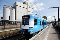 Barneveld. Valleilijn trein op station Barneveld