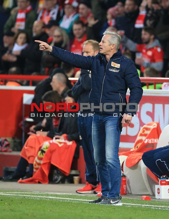 28.04.2017, Stadion an der Wuhlheide, Berlin, GER, 2.FBL, 1.FC UNION BERLIN  VS. SANDHAUSEN, im Bild <br /> Cheftrainer (Head Coach) Jens Keller (1.FC Union Berlin)<br /> <br />      <br /> Foto &copy; nordphoto / Engler