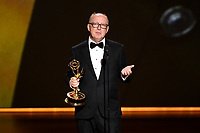 LOS ANGELES - SEPTEMBER 22: Harry Bradbeer accepts the award for directing for a comedy series at the 71st Primetime Emmy Awards at the Microsoft Theatre on September 22, 2019 in Los Angeles, California. (Photo by Frank Micelotta/Fox/PictureGroup)