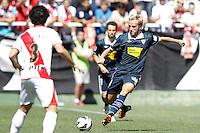 02.09.2012 SPAIN -  La Liga 12/13 Matchday 3rd  match played between Rayo Valelcano vs Sevilla Futbol Club (0-0) at Campo de Vallecas stadium. The picture show Ivan Rakitic (Swiss Midfielder of Sevilla F.C.)