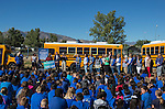 Principal Erin Lane speaks at the Propane Education and Research Council Adopt a Classroom event at Lemmon Valley Elementary School on Tuesday, September 27, 2016.