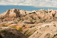 Badlands National Park near Rapid City, South Dakota.